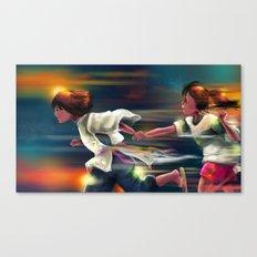 Spritied Canvas Print