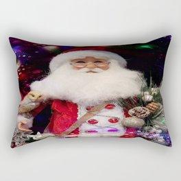 Disco Santa Rectangular Pillow