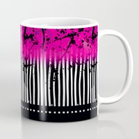 artsy Mugs featuring Artsy Noise by Kathy Morton Stanion
