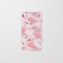 Flamingo Pattern Hand & Bath Towel