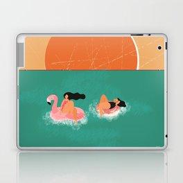 Vintage Swimming Girl Laptop & iPad Skin