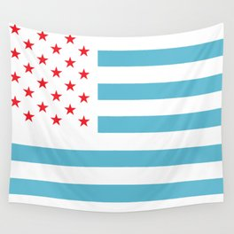U.S.A. Flag Modified Wall Tapestry
