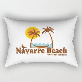 Navarre Beach - Florida. Rectangular Pillow