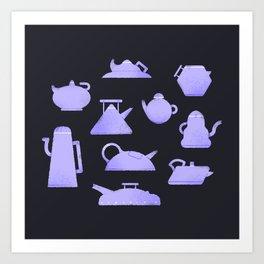 Teapot Curves ² Art Print