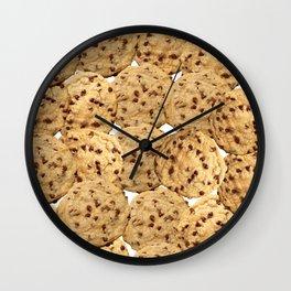 Homemade Chocolate Chip Cookies Wall Clock