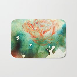 Underwater Flower Bath Mat