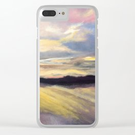 Summer Sunset Over Lake Winnipesaukee in New Hampshire Clear iPhone Case