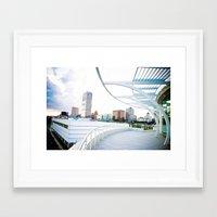 milwaukee Framed Art Prints featuring Milwaukee by Andrea Coan