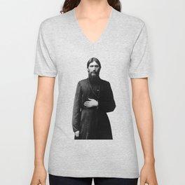 Rasputin The Mad Monk Unisex V-Neck
