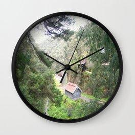 Restored Train Depot Wall Clock