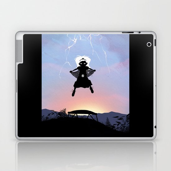 Storm Kid Laptop & iPad Skin