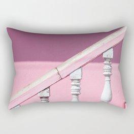 Pink Stairway Rectangular Pillow