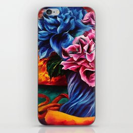 """Flowers"" Painting iPhone Skin"
