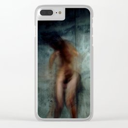 trauma II Clear iPhone Case