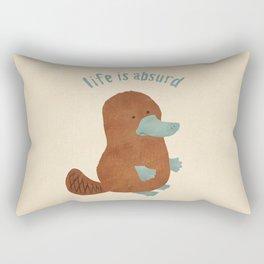 Platypi Don't Lie Rectangular Pillow