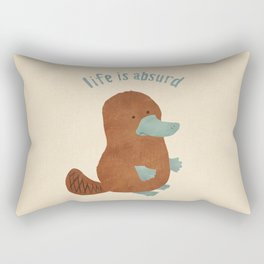 Platypi Don't Lie Rectangular Pillow