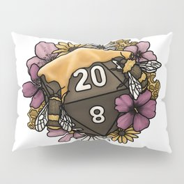 Honeycomb D20 Tabletop RPG Gaming Dice Pillow Sham