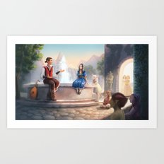 The Storyteller Art Print