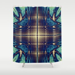Fractal Abstract 22 Shower Curtain