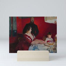 "John Singer Sargent ""The Birthday party"" Mini Art Print"