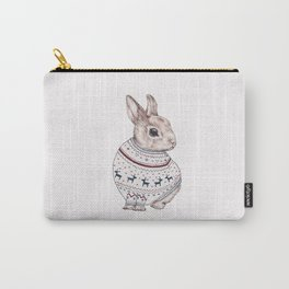 sweater rabbit Carry-All Pouch