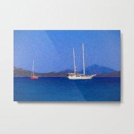 Sailing Ship Art Metal Print