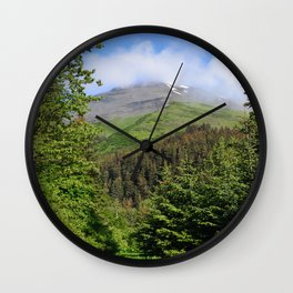 Summer Greens! Wall Clock