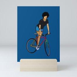 Track Stand Mini Art Print