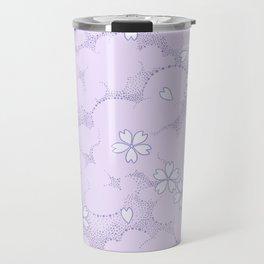 Kumori Nochi Sakura: Purple Travel Mug