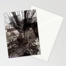 Ghosts in the Yard Stationery Cards