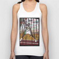 nba Tank Tops featuring NBA PLAYERS - Shawn Kemp by Ibbanez