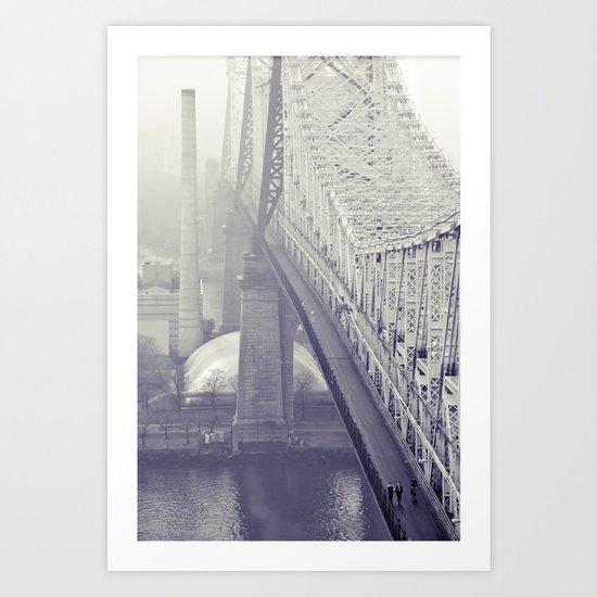 59th street bridge... Art Print