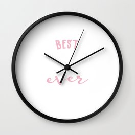 Best Conductress Ever Gift Idea Wall Clock
