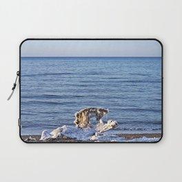 Something on the Beach Laptop Sleeve