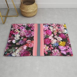 Vintage Roses for Valentine's Day Rug