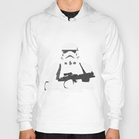 stormtrooper Hoodies featuring Stormtrooper by  Steve Wade ( Swade)