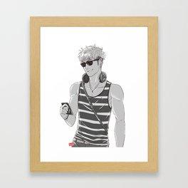 SNK: Modern Jean Kirschstein Framed Art Print