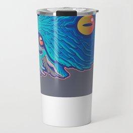 Blue Foo Travel Mug