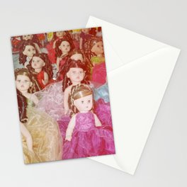 15 birthday dolls Stationery Cards