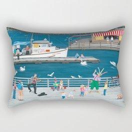 Steveston Landing Rectangular Pillow