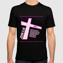 John 3.16 - Bible Verse Design T-shirt