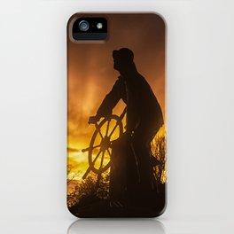 Fisherman's Memorial Sunset iPhone Case