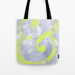 Grungy Ampersand Tote Bag