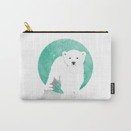 Snow Bear Carry-All Pouch