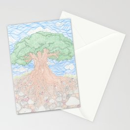 Roots and Leaves Stationery Cards