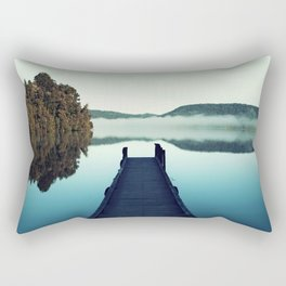Gloomy dock Rectangular Pillow