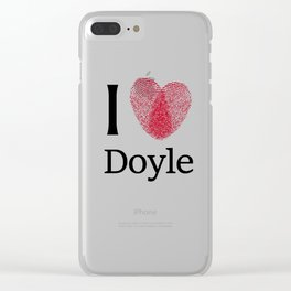 iDoyle Clear iPhone Case