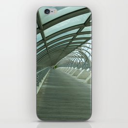 Third millenium bridge,in feature town Zaragoza iPhone Skin