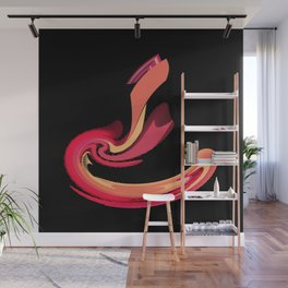 Strike of the Cobra Abstract Wall Mural