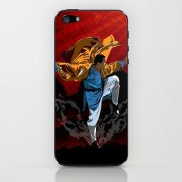 Shaolin Kung Fu iPhone Skin